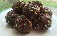 Resep Cemilan Bola-bola Cokelat, Enak Disantap Bersama Keluarga