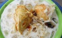 es kolak durian