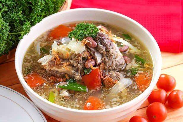Sup Iga Daging Sapi