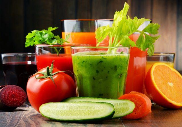 jus sayur dan buah
