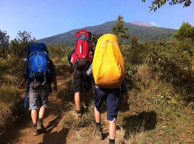 gunung bagi pendaki pemula