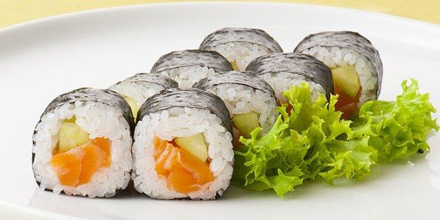 sushi roll sederhana