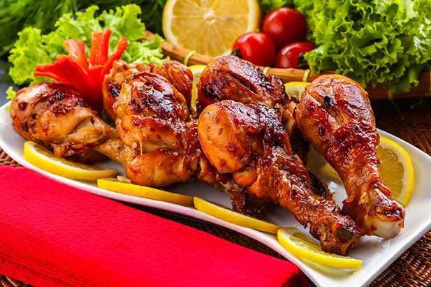 ayam panggang empuk