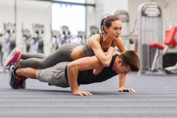 Alasan olahraga dengan Pasangan