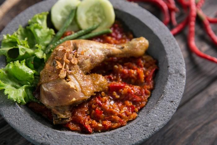 Resep Ayam Penyet Jawa Timur