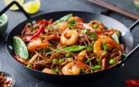 Mie Goreng Topping Seafood
