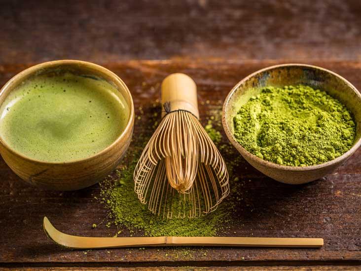 matcha dan green tea