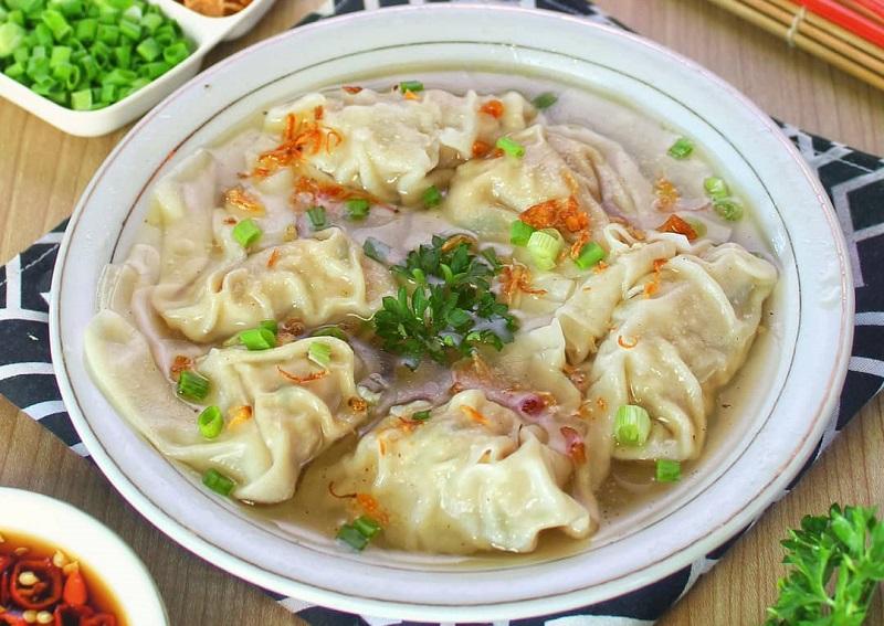 sup pangsit daging ayam