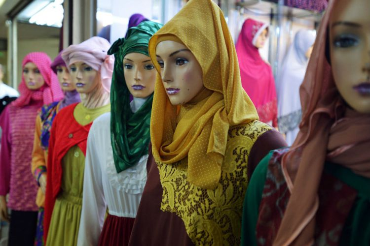 berbisnis fashion muslim