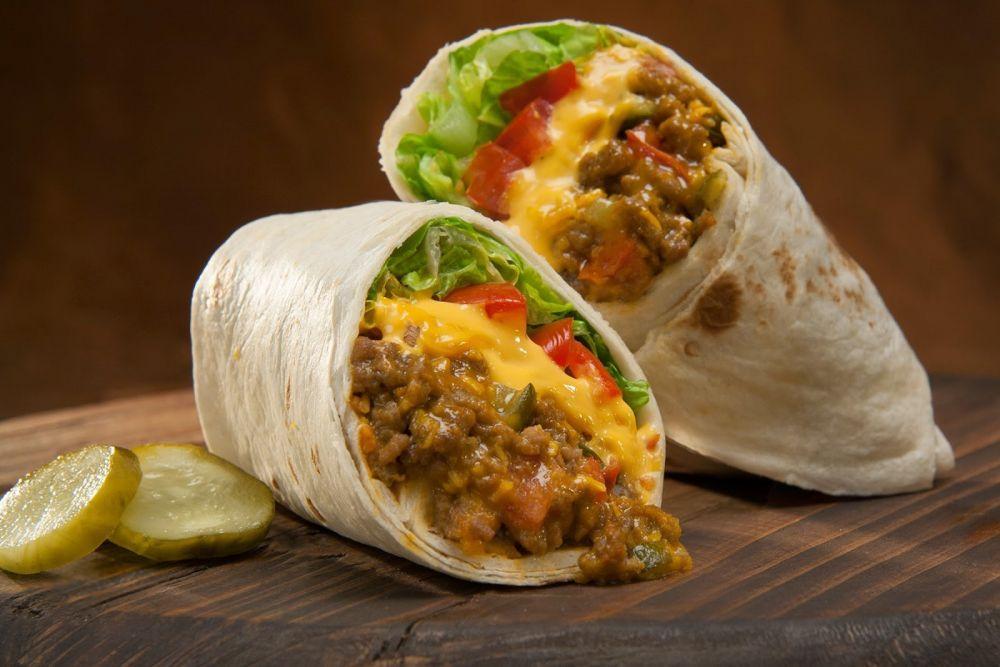 cara membuat burrito beef