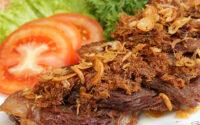 resep empal gepuk sambal