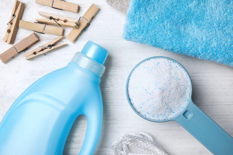 manfaat deterjen untuk baju