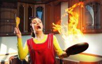 kebakaran di dapur