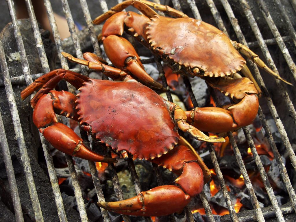 kepiting bakar pedas