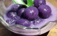 kolak ubi ungu kenyal