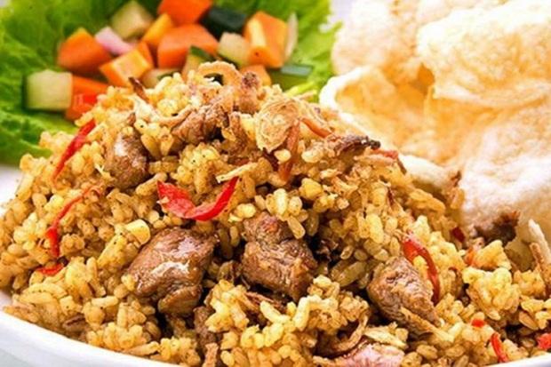 nasi goreng daging cincang