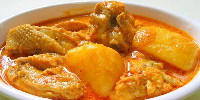 resep kari ayam Bali